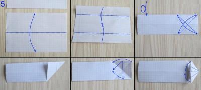 танк оригами абрамс схема 5