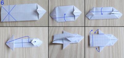 танк оригами абрамс схема 6