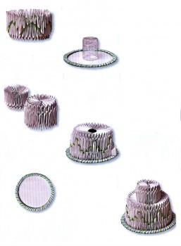 Оригами модульное торт схема шаг 9-11