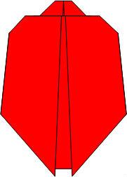 Схема 6 Божья коровка оригами