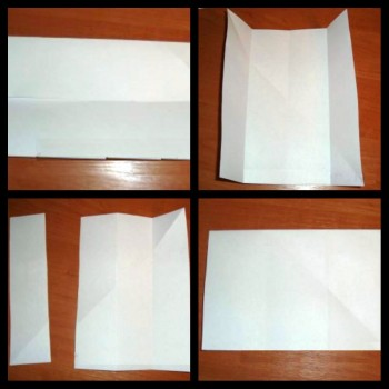 Схема стульчик оригами шаг 2
