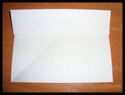 Стульчик оригами бумажный схема 1