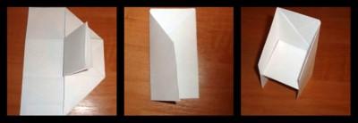Стул оригами схема шаг 4
