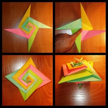 Мастер-класс спираль в технике оригами