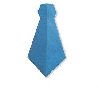 Галстук оригами мастер-класс