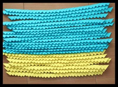 Красивая корзинка оригами модули схема