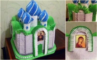 Модульное оригами храм мастер класс 11