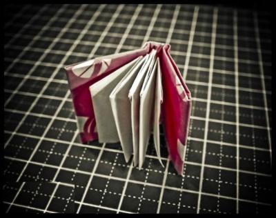 Оригами книга из бумаги мастер-класс схема