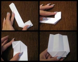 Оригами для начинающих книга схема 9-13