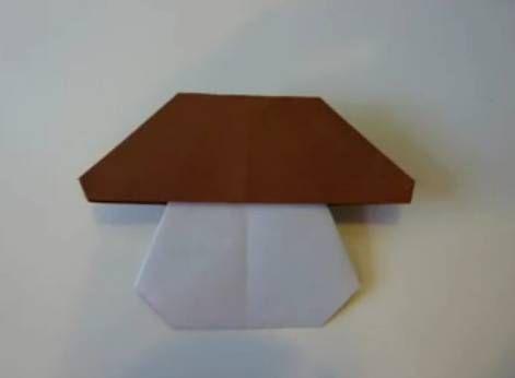 Оригами гриб мастер-класс