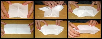 Оригами поросенок схема сборки 7-12