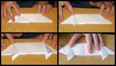 Оригами поросенок схема складывания 13-16
