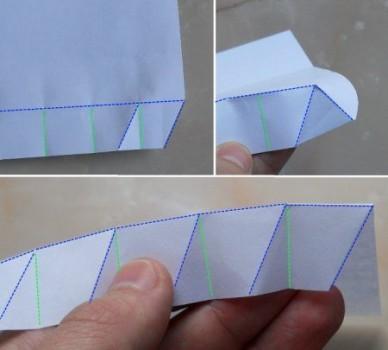 Схема оригами Бутылка 4