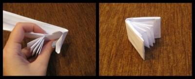 Схема оригами для детей книга сборка 18-19
