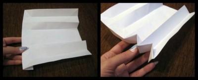 Схема складывания оригами книга 6-8