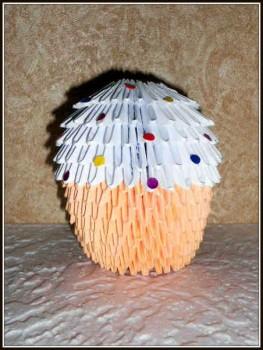 Пасхальный кулич оригами