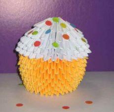 Модульное оригами пасхальный кулич схема шаг 8 мастер-класс