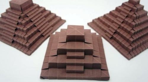 Древняя пирамида оригами от Jo Nakashima