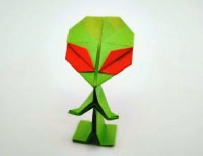 Инопланетянины оригами смема сборки