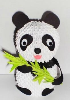 Модульное оригами панда