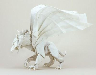 Оригами Грифон мастер класс видео