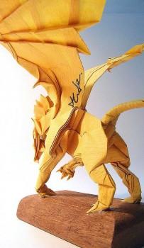 Оригами Грифон схема сборки