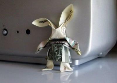 Оригами Заяц паттерн сборки