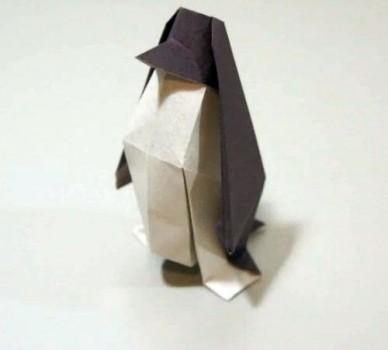 Пингвин оригами от Jo Nakashima