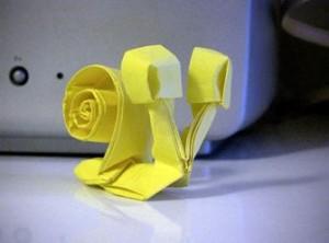 Улитка оригами схема складывания