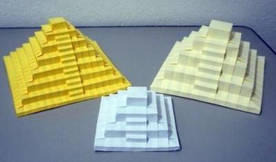 Пирамида оригами мастер класс