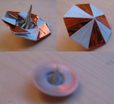 Бумажная игрушка оригами