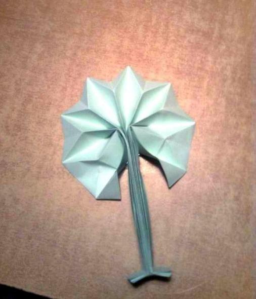 Дерево оригами за схемой mr_Anton