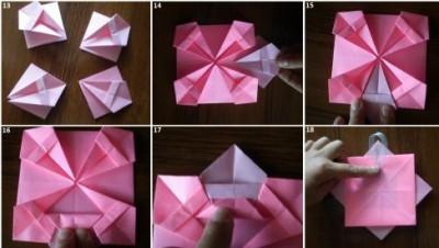 Фото сборка рамки оригами своими руками 13-18