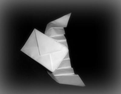 Конверт оригами мастер класс