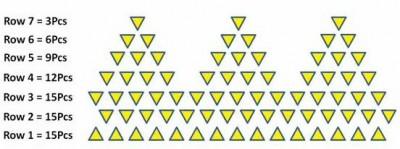 Модульное оригами тюльпан схема сборки
