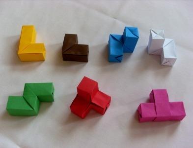 Оригами куб своими руками