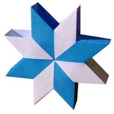 Оригами объемная звезда Нории от автора Aldo Marcell
