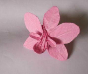 Оригами орхидея схема сборки видео