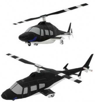 Оригами вертолет