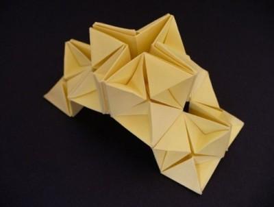 Оригами звезда объемная