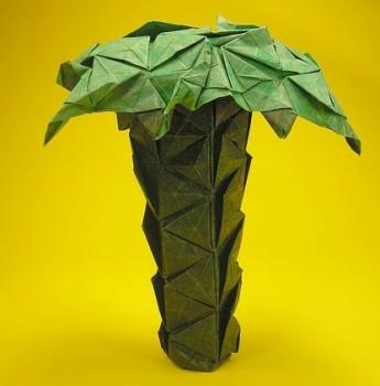 Пальма оригами мастер класс
