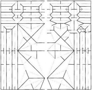 Паттерн сборки Цебер оригами