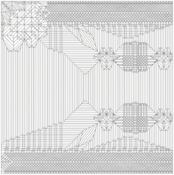 Паттерн сборки оригами Дракон RyuJin 3.5