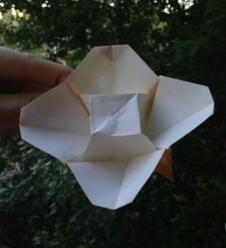 Поделки оригами цветок