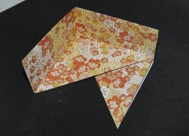 Схема сборки коробки оригами