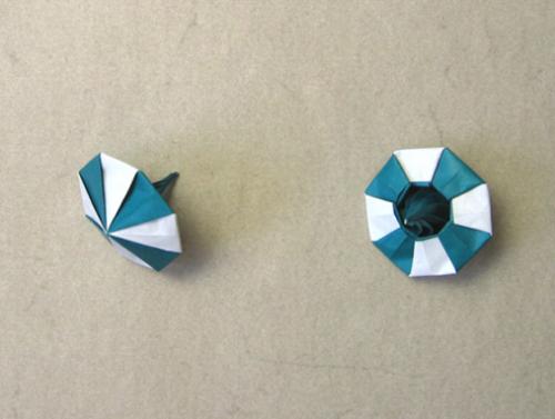 Оригами игрушки из бумаги юла оригами