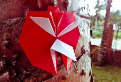 Angry Bird оригами видео