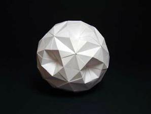 Кусудама супер-шар оригами схема