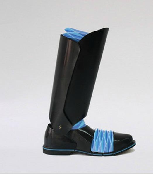 Новейшая обувь Origami Knight