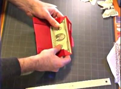 Оригами конверт схема сборки